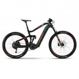 Haibike XDURO AllMtn 8.0 i630Wh 11-G XT HB Flyon oliv/carbon/orange 2020 RH-XL