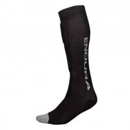 Endura SingleTrack Schienbeinprotektor Socken black L-XL