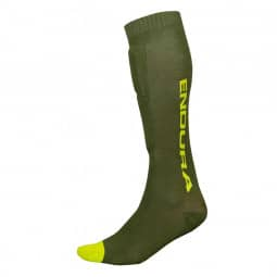 Endura SingleTrack Schienbeinprotektor Socken forest green