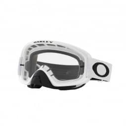 Oakley Goggle O-Frame 2.0 MX Matte White Clear & Dark Grey