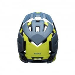 Bell Super Air R Mips Fahrradhelm matte/gloss blue/hi-viz