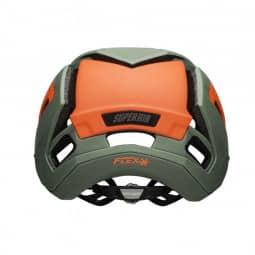 Bell Super Air R Mips Fahrradhelm matte/gloss green/infrared