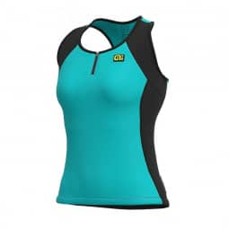 ALE Color Block Lady Top Turquoise