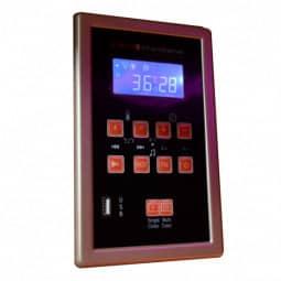 Infrarotkabine Zanier Gigatherm II - Hemlock MP3 Display neu