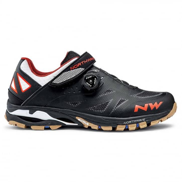 /Schuhe: Northwave Srl Northwave Spider Plus 2 BLKOFF WHORANGE EUR 39