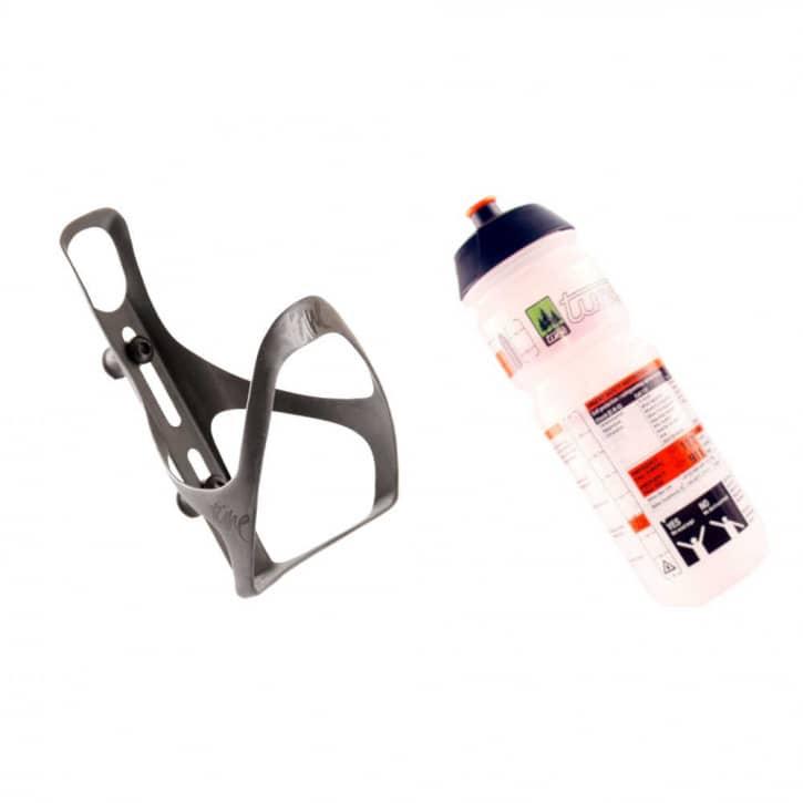 Fahrradteile/Trinkflaschen: Tune  Flaschenhalter MTB inkl. Trinkflasche 075