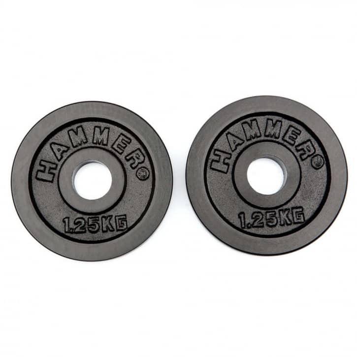 : Hammer  Hantelscheiben GUSS - 2 x 125 kg