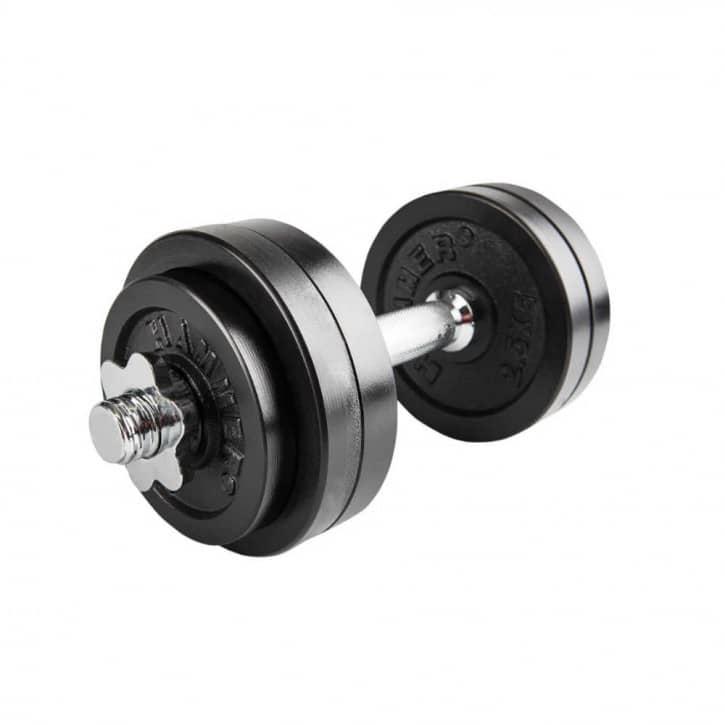 : Hammer  15 kg Kurzhantel-Set Eisen