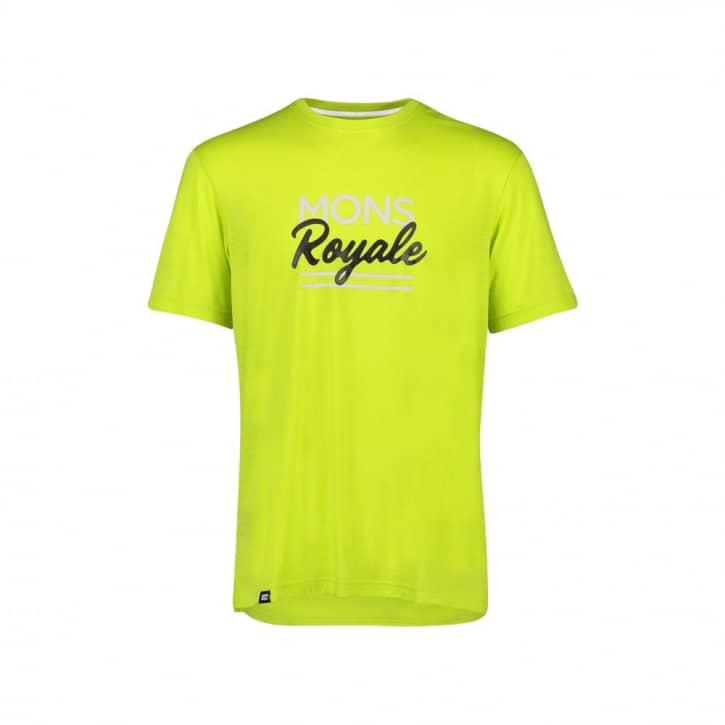 Bekleidung: Mons Royale  Tarn Freeride T Sonic Lime L