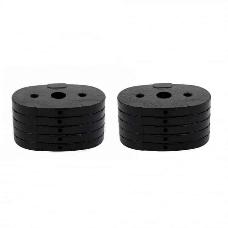 : Finnlo INSPIRE by HAMMER Add. weight block 45 kg for FT2 FT1 and SCS