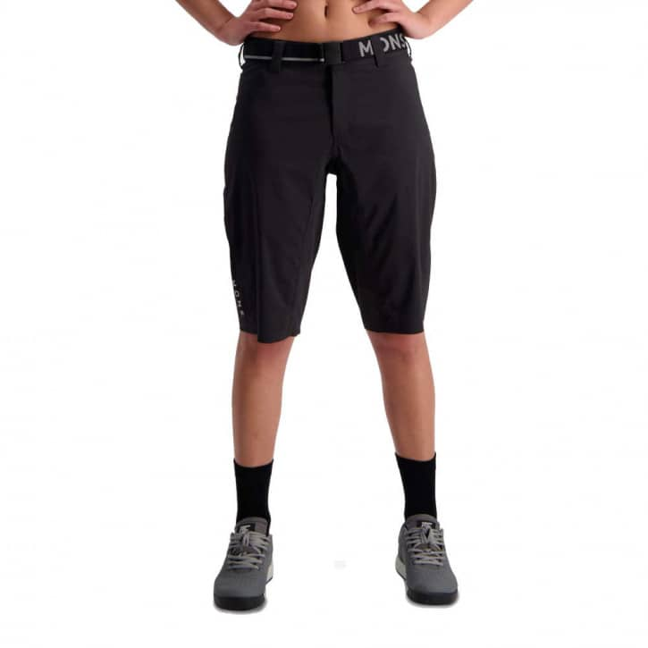 Bekleidung: Mons Royale  Womens Virage Bike Shorts Black XL