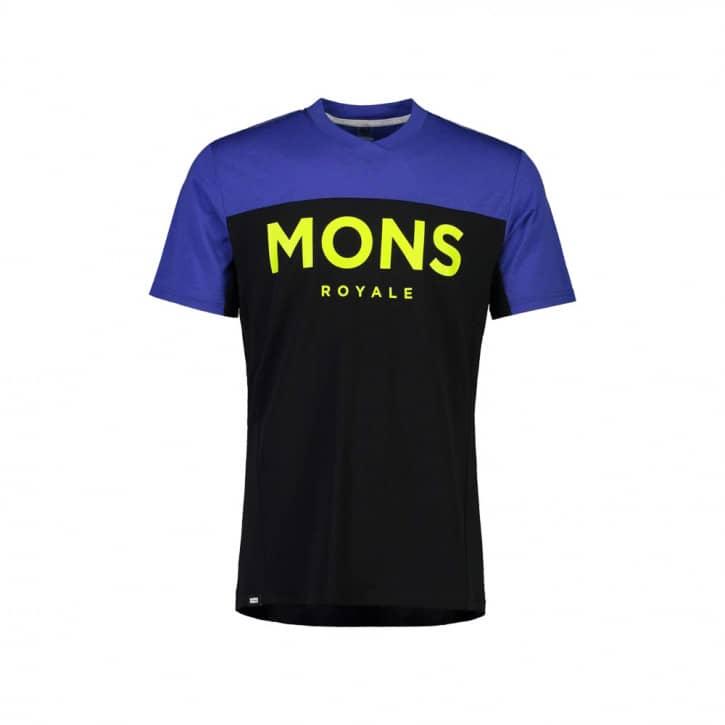 Bekleidung: Mons Royale  Mens Redwood Enduro VT Ultra Blue  Black