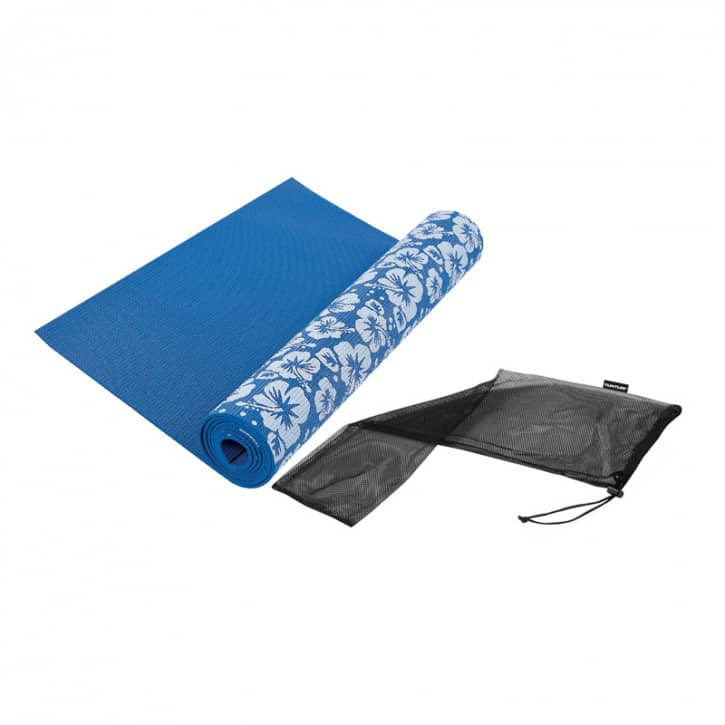 tunturi-yoga-matte-bedruckt-blau