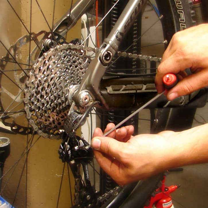 : ZANIER Infrarotkabinen Lieferung eines fertig montiertenjustierten Fahrrades