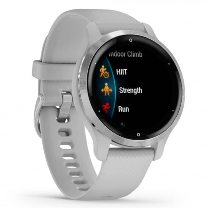Smartwatches - Garmin Venu 2S Hellgrau Silber  - Onlineshop Fitstore24
