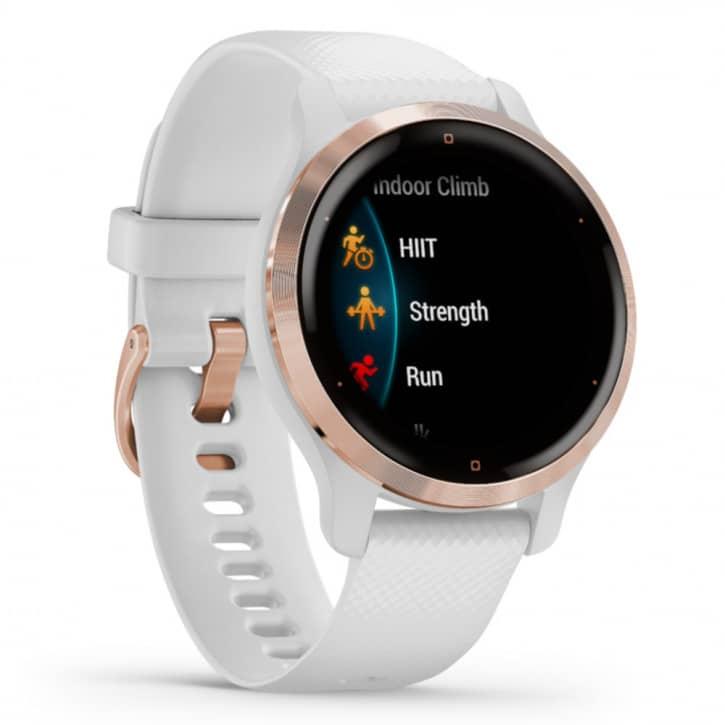 Smartwatches - Garmin Venu 2S Weiss Rosegold  - Onlineshop Fitstore24