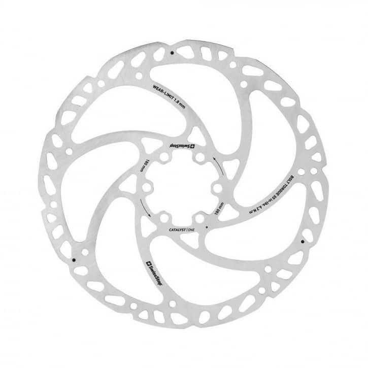 /Bremsen: SwissStop  Scheibenbremse Catalyst ONE 6 Loch 180mm