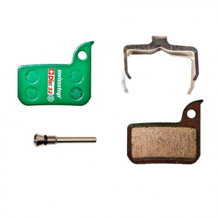 /Bremsen: SwissStop  Bremsbeläge Disc 32 (SRAM) Organic (2 Stk.)