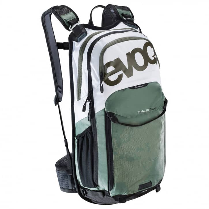 evoc-stage-18l-team-one-size-white-olive, 140.00 EUR @ fitstore24