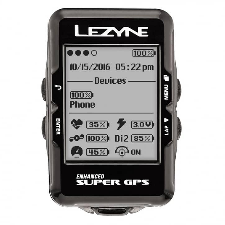 Fahrradteile: Lezyne  Fahrradcomputer GPS Super