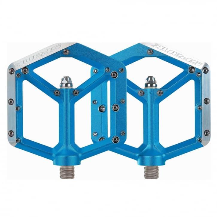 spank-spike-flat-pedale-blau