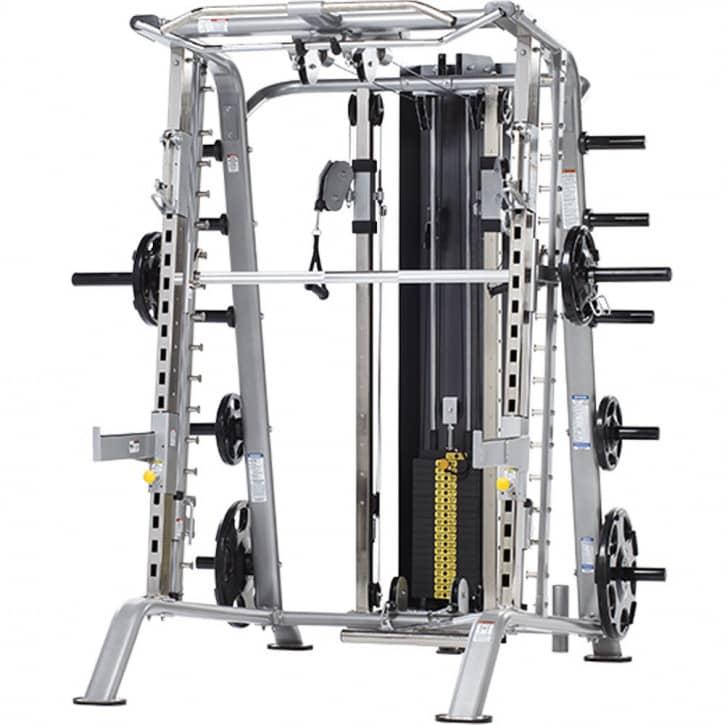 : Tuff Stuff Fitness Tuff Stuff Multipresse Smith-Half Cage CSM-725WS