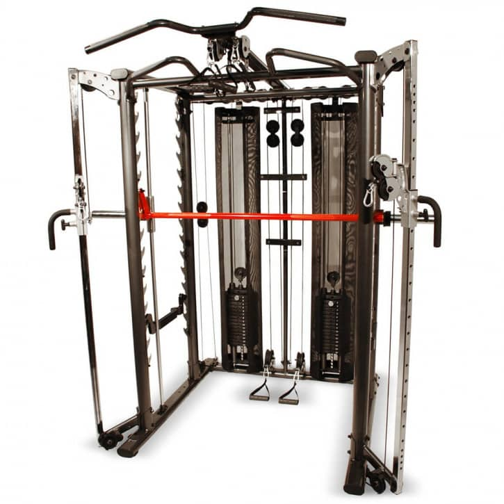 : Hammer INSPIRE by HAMMER SCS Functional-Trainer (Fully equipped Smith Cag)