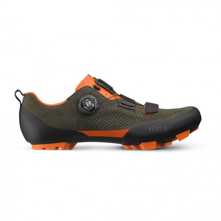 /Schuhe: Fizik  Terra X5 Suede military  fluo EUR 38
