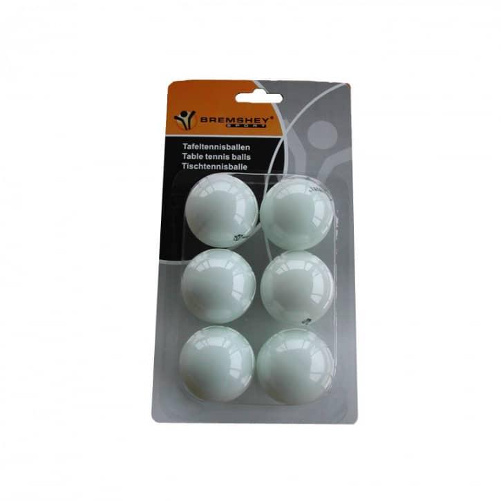 tunturi-tischtennisballe-6-stk-wei-, 2.95 EUR @ fitstore24