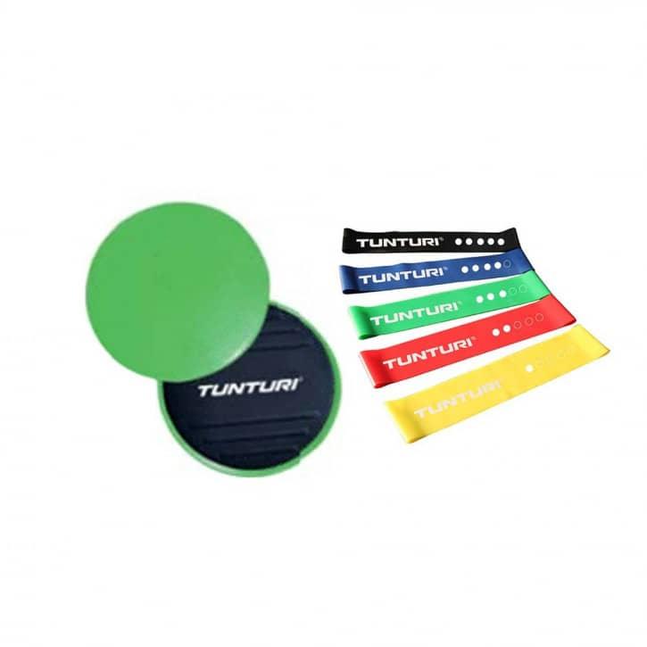 tunturi-resistance-core-sliders-set