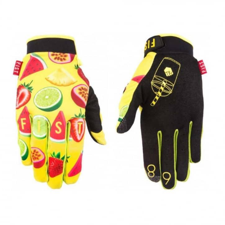 fist-handschuhe-smoothie-gelb-schwarz-xxs