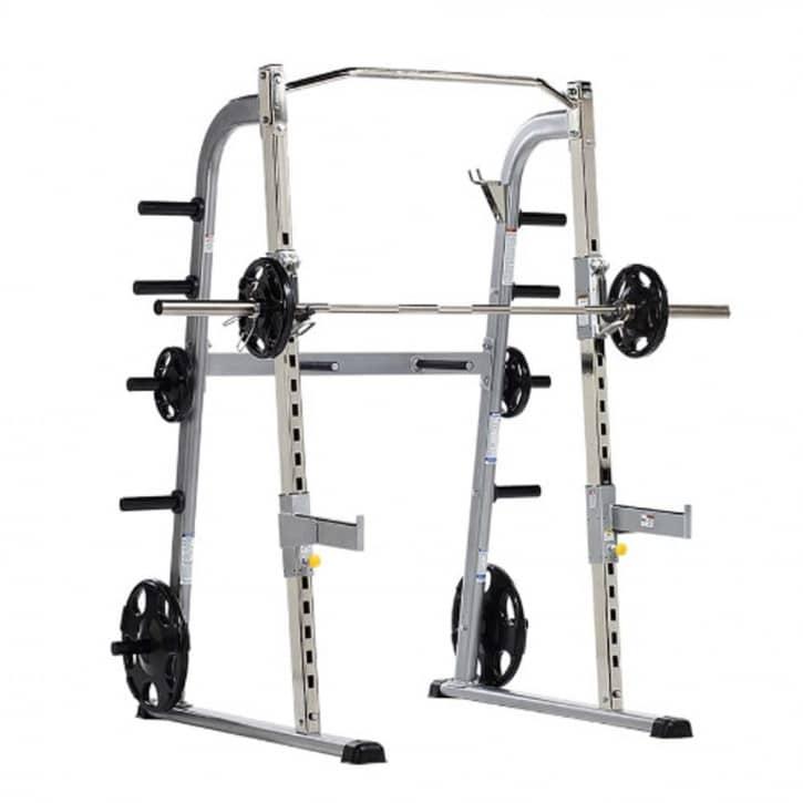 : Tuff Stuff Fitness Tuff Stuff Half Cage inkl. Sicherheitsablage und Dip-Station CHR-500