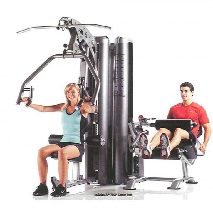 : Tuff Stuff Fitness Tuff Stuff Apollo 7200 Multi Gym System - Multipresse und Beincurl