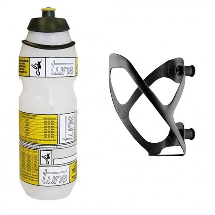 Fahrradteile/Trinkflaschen: Tune  Flaschenhalter 2.0 + Flasche