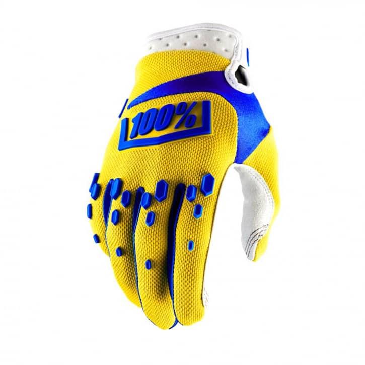 Bekleidung/Handschuhe: 100%  Airmatic Glove yellow XL
