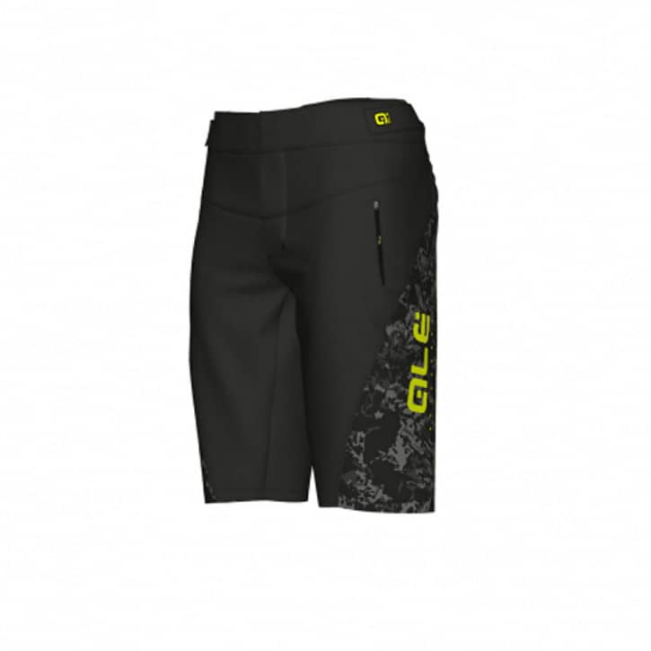 ale-enduro-shorts-schwarz-gelb-xl