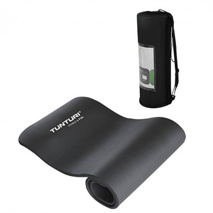 tunturi-fun-fitnessmatte-mit-tasche-schwarz