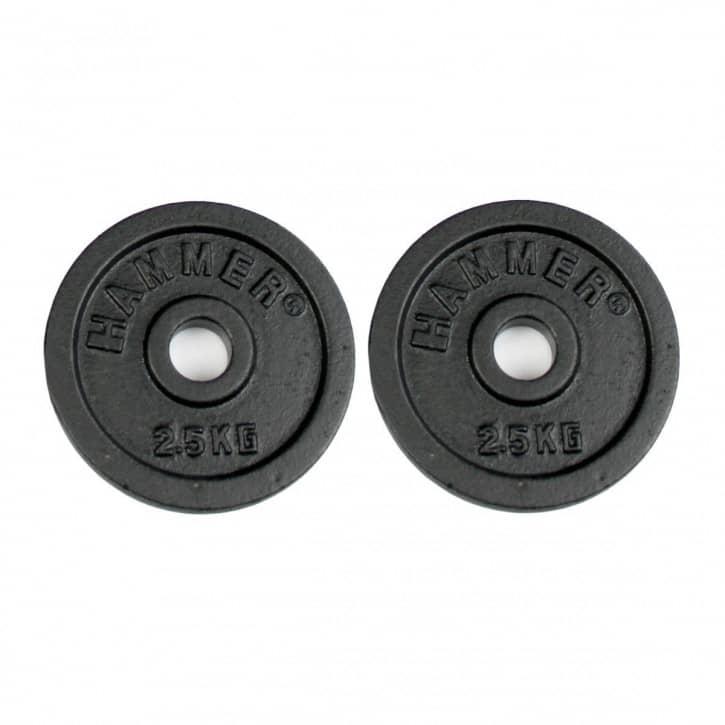 hammer-hantelscheiben-guss-2-x-0-5-kg