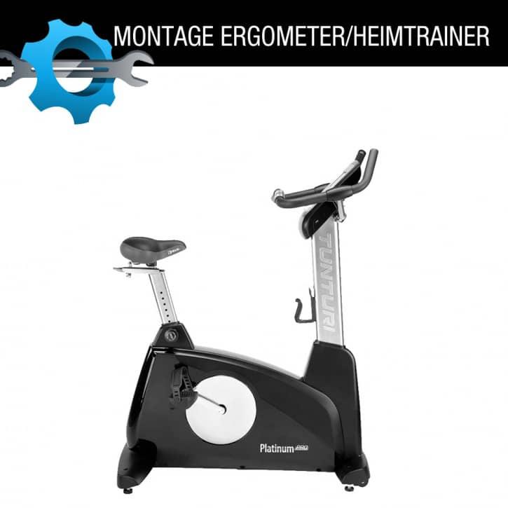 : ZANIER Infrarotkabinen Vor Ort Montage eines Heimtrainers  Ergometers  Indoorcycles