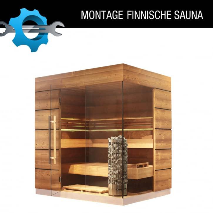 : ZANIER Infrarotkabinen Vor Ort Montage einer Finnischen Sauna
