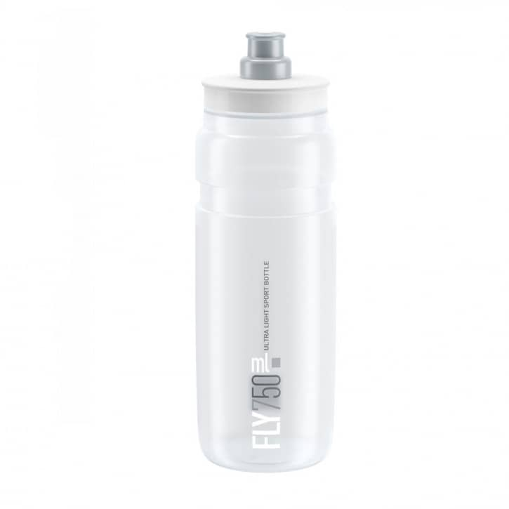 elite-trinkflasche-fly-clear-750ml-graues-logo