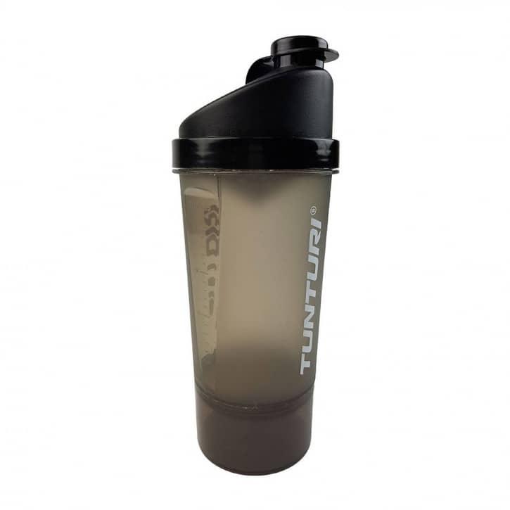 tunturi-protein-shaker-600-ml-mit-aufbewahrung, 5.95 EUR @ fitstore24