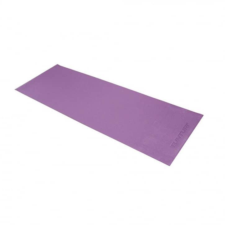 tunturi-yogamatte-pvc-violett
