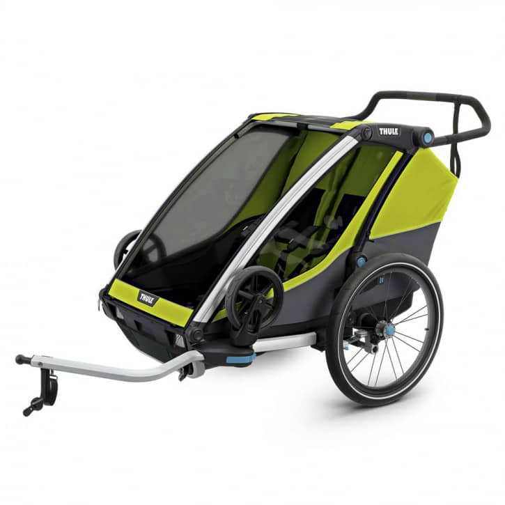 thule-chariot-cab2-chartreuse