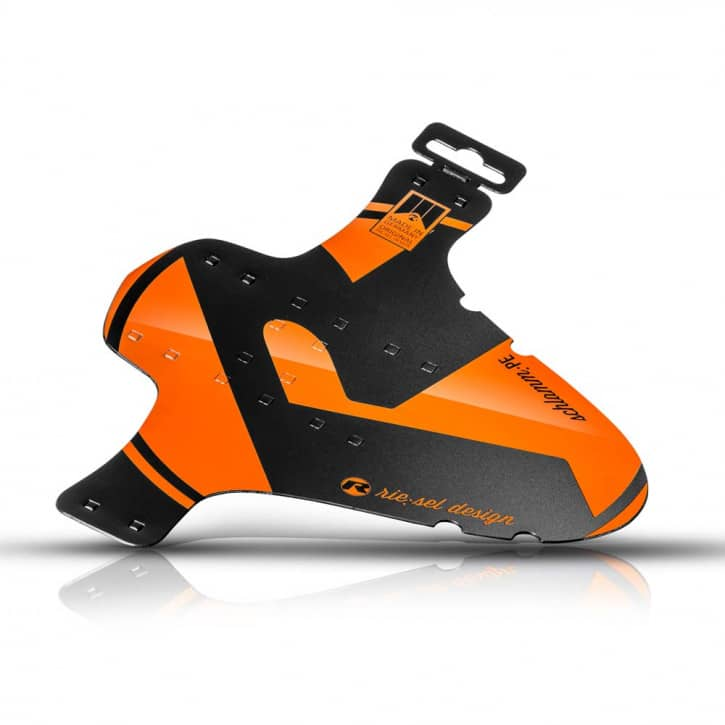Fahrradteile: Riesel Design  Mudguard schlamm:PE