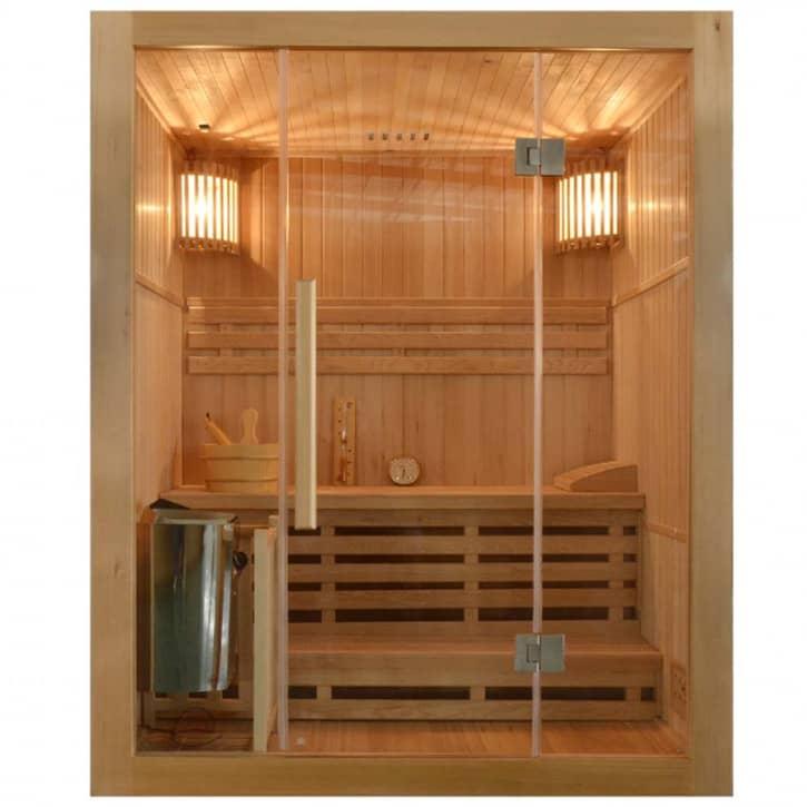 : ZANIER Infrarotkabinen Finnische Sauna ZANIER SUOMI