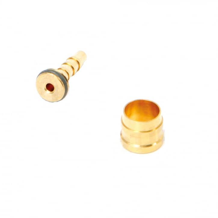 /Bremsen: Tektro  Bremsleitungskit 1 x Olive 1 x Pin