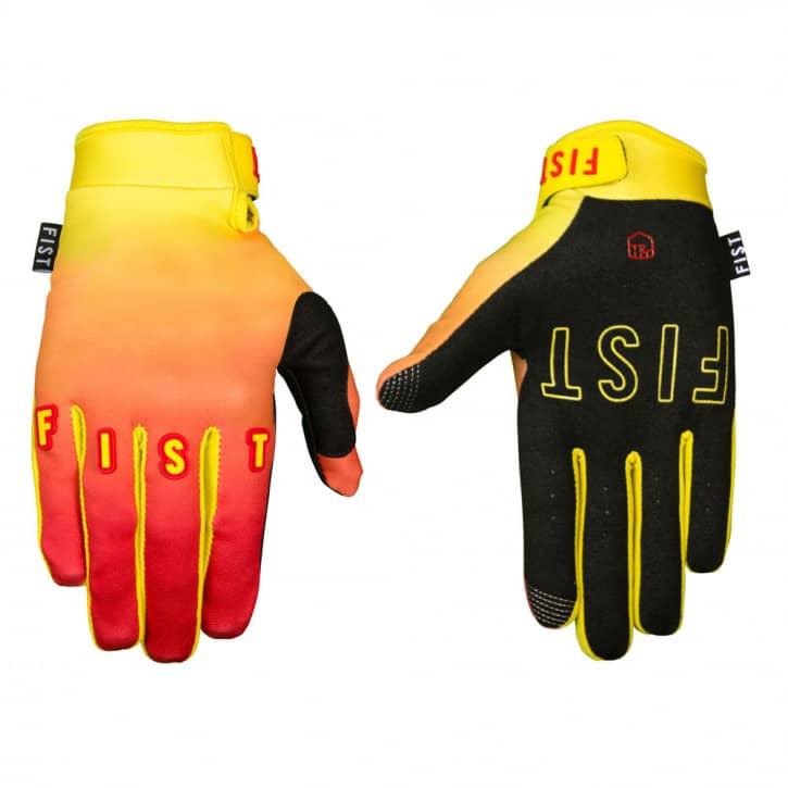 Bekleidung/Handschuhe: Fist Handwear Fist Handschuhe Tequila Sunrise - S