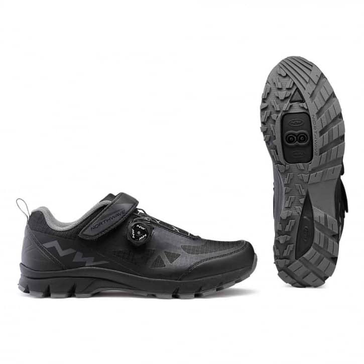 /Schuhe: Northwave Srl Northwave Corsair Black EUR 40