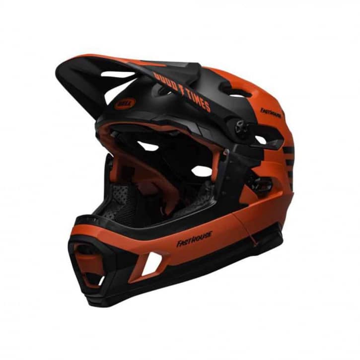 bell-super-dh-mips-fahrradhelm-mat-gls-red-black-fasthouse-l